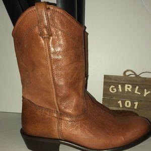 Steve Madden Lasoo ankle boots London Tan size 9.5